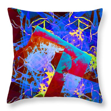A Star Is Born Throw Pillow by Thomas Bryant