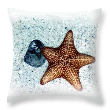 Throw Pillow featuring the photograph A Star Is Born by William Havle