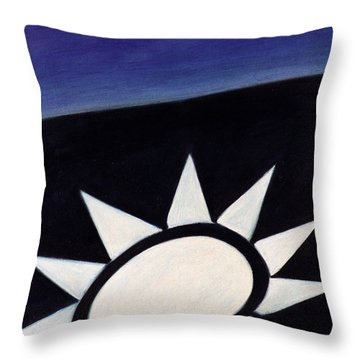 A Startling Throw Pillow