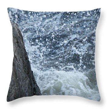 A Stillness In The Storm  Throw Pillow by Brian Boyle