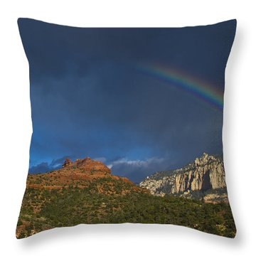 A Stitch In Time Throw Pillow by Tom Kelly