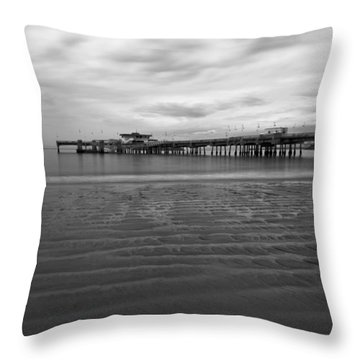 A Storm Looms Throw Pillow by Heidi Smith