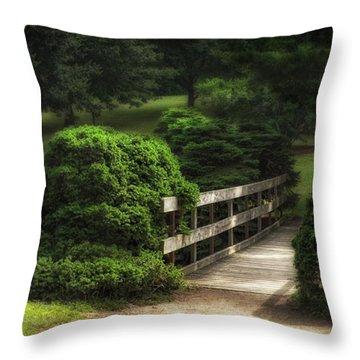Bushes Throw Pillows