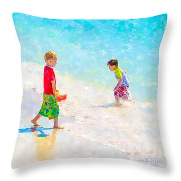 A Summer To Remember V Throw Pillow