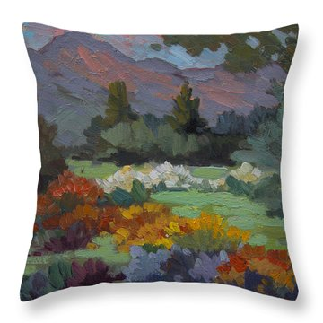 A Sunny Afternoon In Santa Barbara Throw Pillow