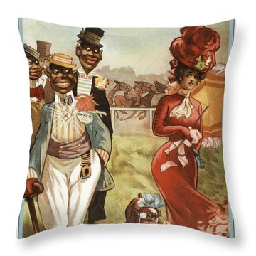A Sure Winner Throw Pillow by Aged Pixel