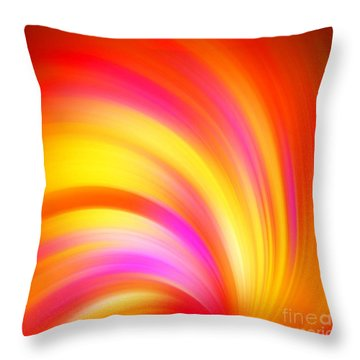 A Surreal Moment Throw Pillow