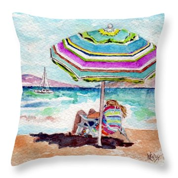 A Sweet Day In Maui Throw Pillow
