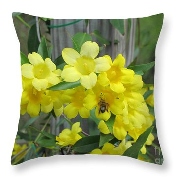 A Taste Of Yellow Throw Pillow