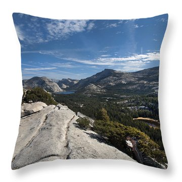 A Tenaya View Throw Pillow