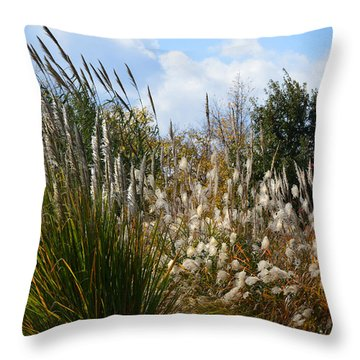 A Thanksgiving Kind Of Day Throw Pillow by Lena Wilhite