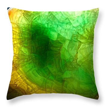 A Thin Slice Of Rock Throw Pillow