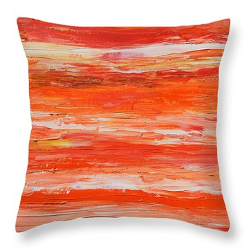 A Thousand Sunsets Throw Pillow