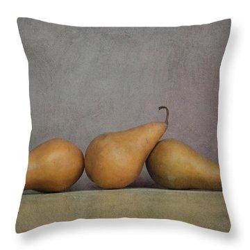 A Threesome Throw Pillow