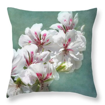 A Touch Of Class Throw Pillow by Kim Hojnacki