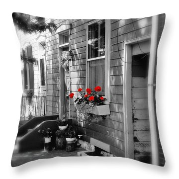 A Touch Of Color Throw Pillow