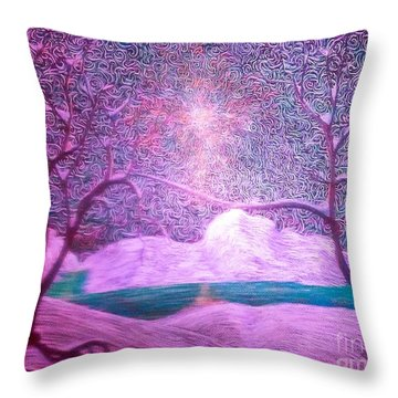 A Touch Of Love Throw Pillow