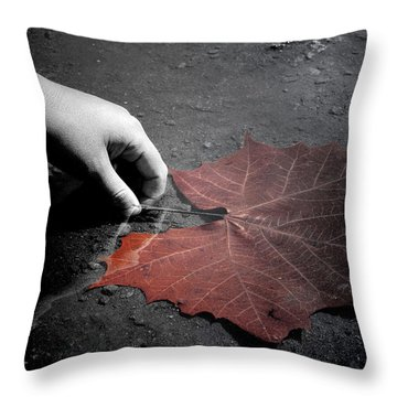 A Treasure To One Throw Pillow by Trish Mistric