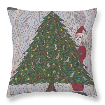 A  Tree For Christmas Throw Pillow