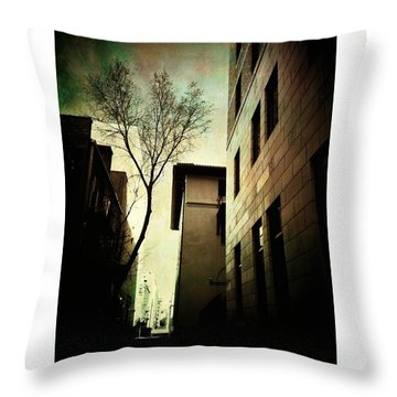 A Tree Grows In Albuquerque Throw Pillow