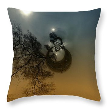 A Tree In The Sky Throw Pillow by Jeff Swan