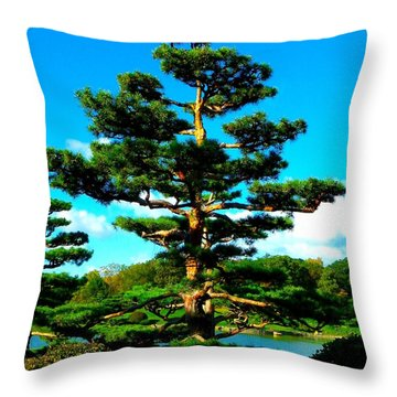 A Tree... Throw Pillow