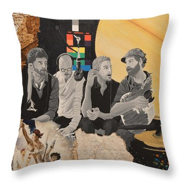 A Tribute Throw Pillow by Leah Price