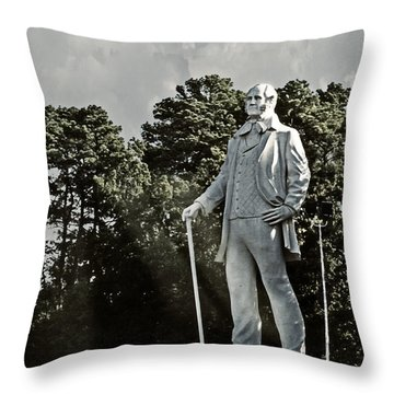 A Tribute To Courage Throw Pillow
