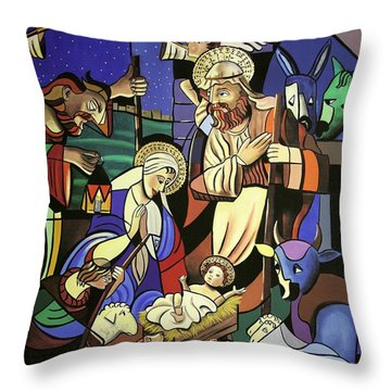 A True Story Throw Pillow by Anthony Falbo