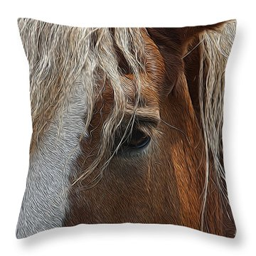 A Trusted Friend Throw Pillow
