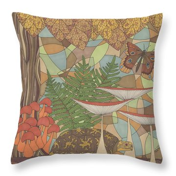 A Turtles View Throw Pillow