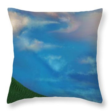 A Twin's Perspective Throw Pillow