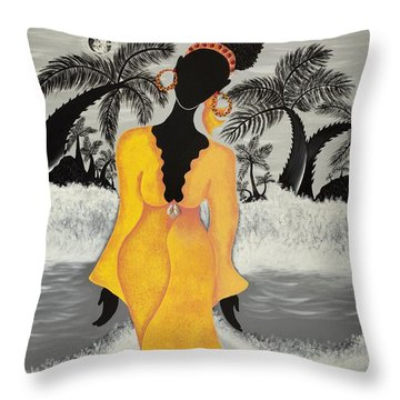 A Version Of Self Throw Pillow