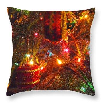 A Vintage Christmas  Throw Pillow