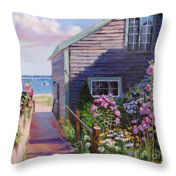 A Visit To P Town Two Throw Pillow