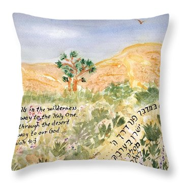 A Voice Calls Throw Pillow