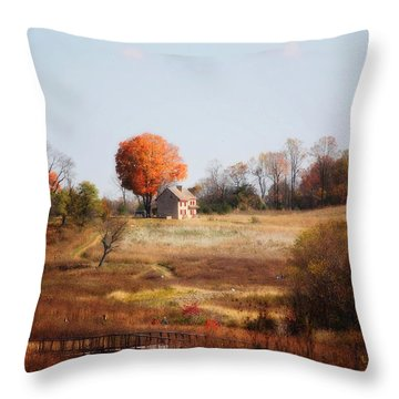A Walk In The Meadow Throw Pillow