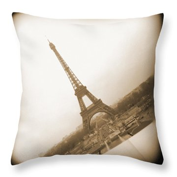 A Walk Through Paris 11 Throw Pillow by Mike McGlothlen