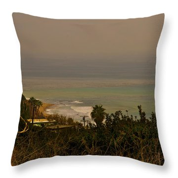 Throw Pillow featuring the photograph A Walk Well Worth It by Joseph Hollingsworth