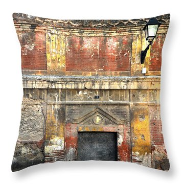 A Wall In Decay Throw Pillow by RicardMN Photography