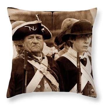A War For The Ages Throw Pillow