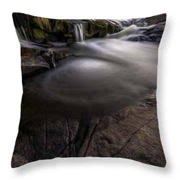 A Waterfall Throw Pillow