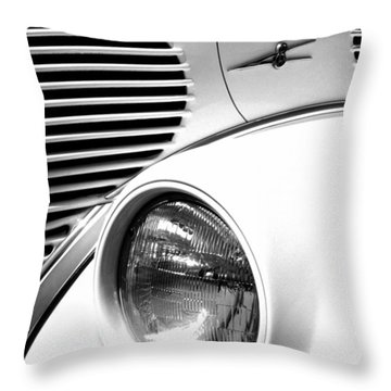 A White V8 Throw Pillow by Paul W Faust -  Impressions of Light