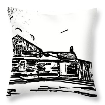 A Winter Dream 3 Throw Pillow by Steve Harrington