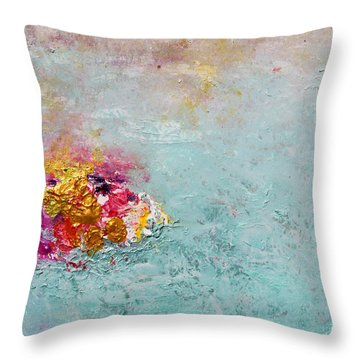 A Winter Fairyland Throw Pillow