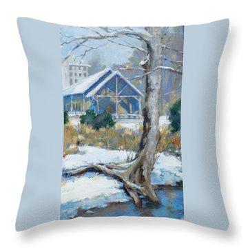 Edwin Warner Park Throw Pillows