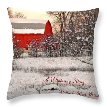 A Wintering Story Throw Pillow