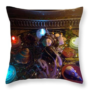 A Wishing Place 7 Throw Pillow