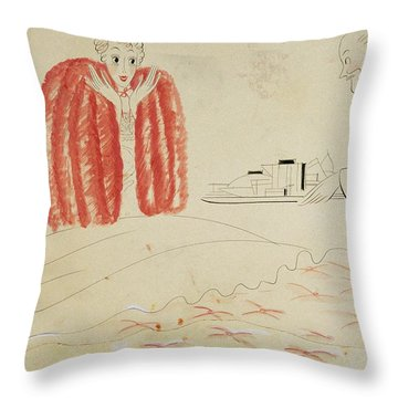 Nightgowns Throw Pillows