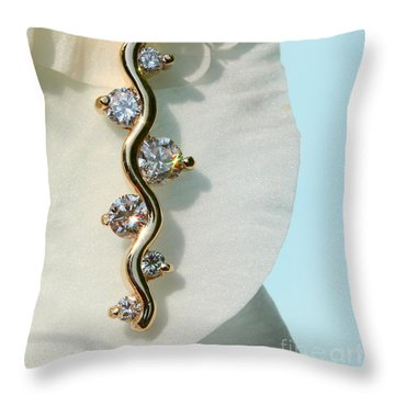 Throw Pillow featuring the photograph A Womans Friend by Steve Augustin